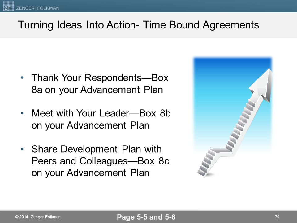 Turning Ideas Into Action- Time Bound Agreements