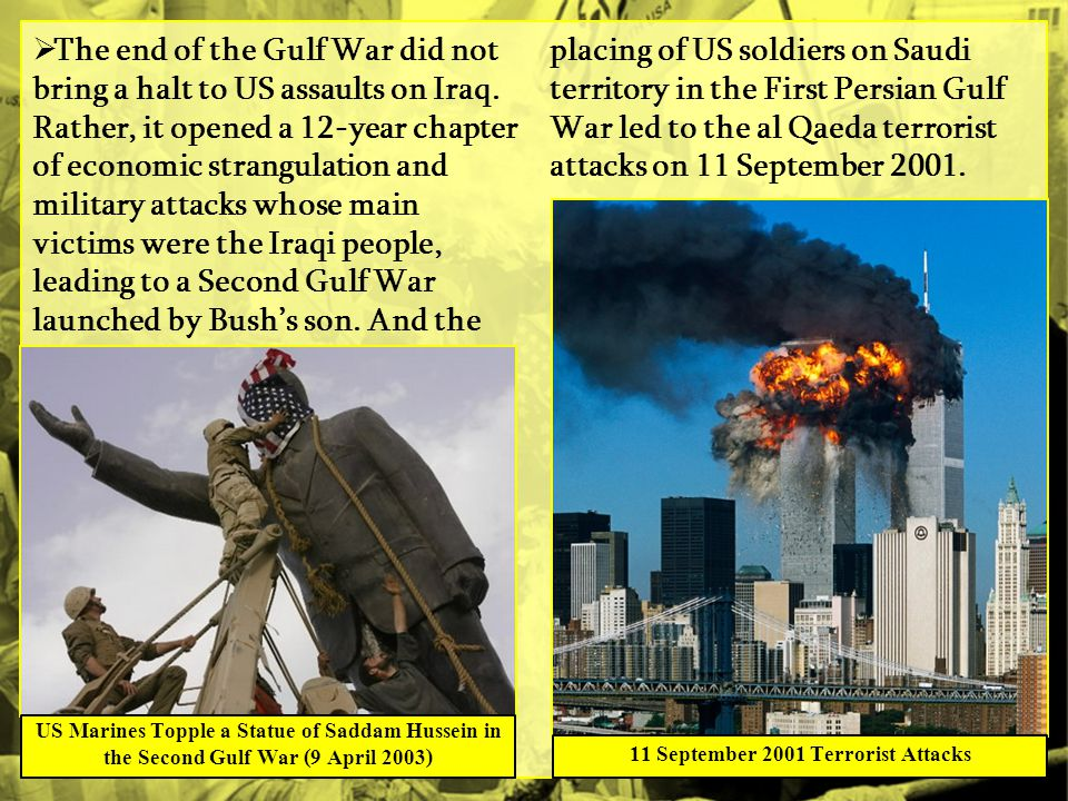 11 September 2001 Terrorist Attacks
