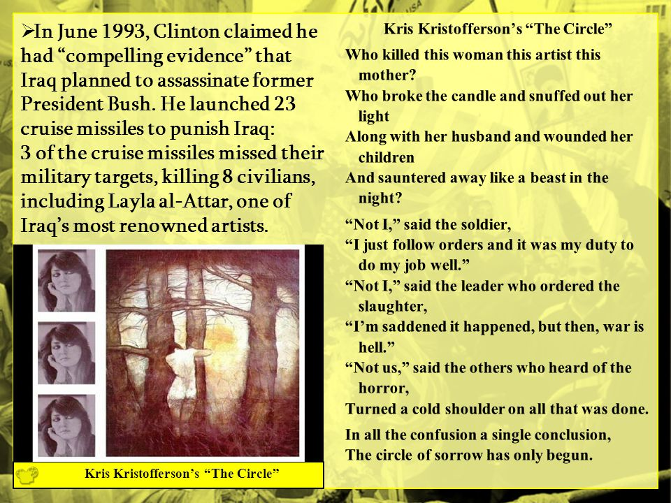 Kris Kristofferson's The Circle Kris Kristofferson's The Circle