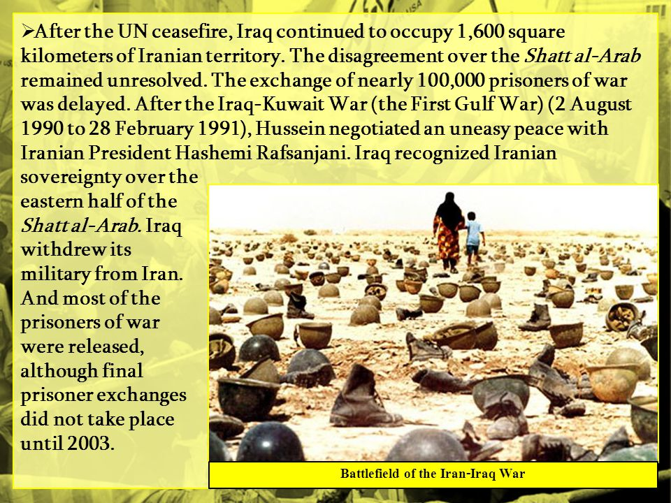 Battlefield of the Iran-Iraq War