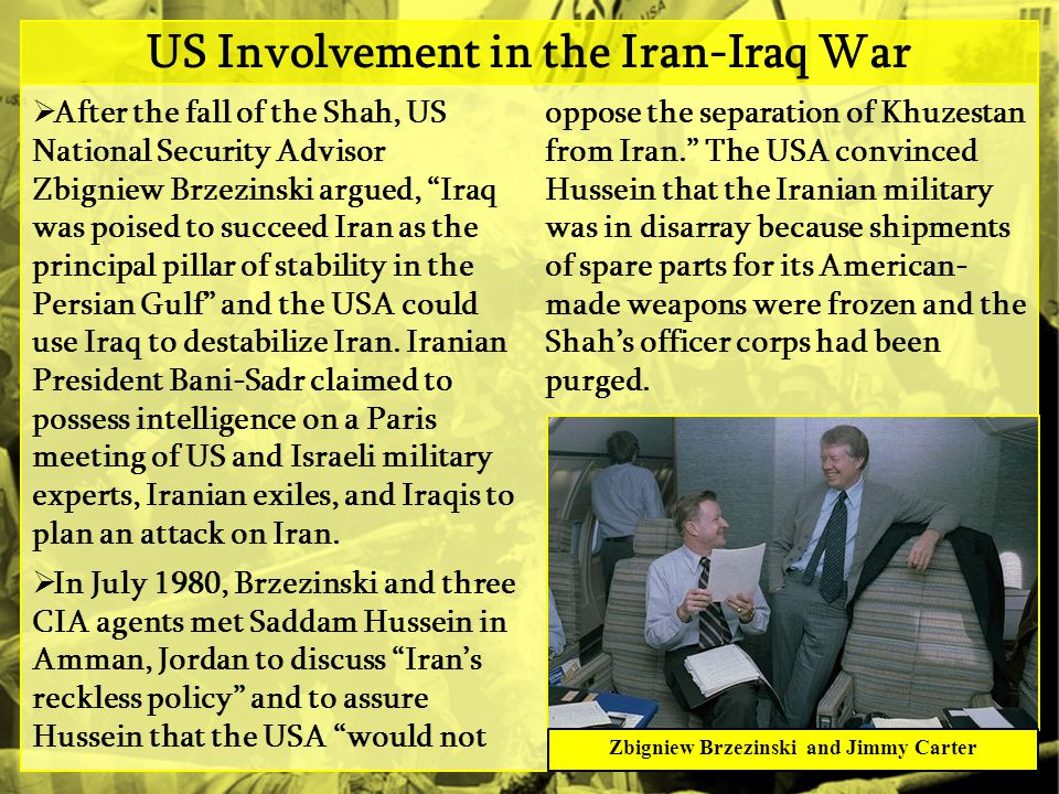 US Involvement in the Iran-Iraq War