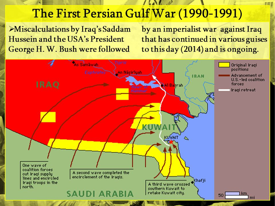 The First Persian Gulf War (1990-1991)