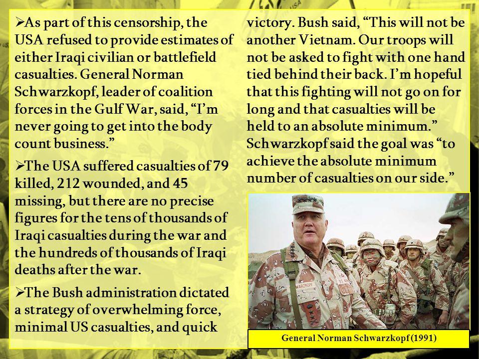 General Norman Schwarzkopf (1991)