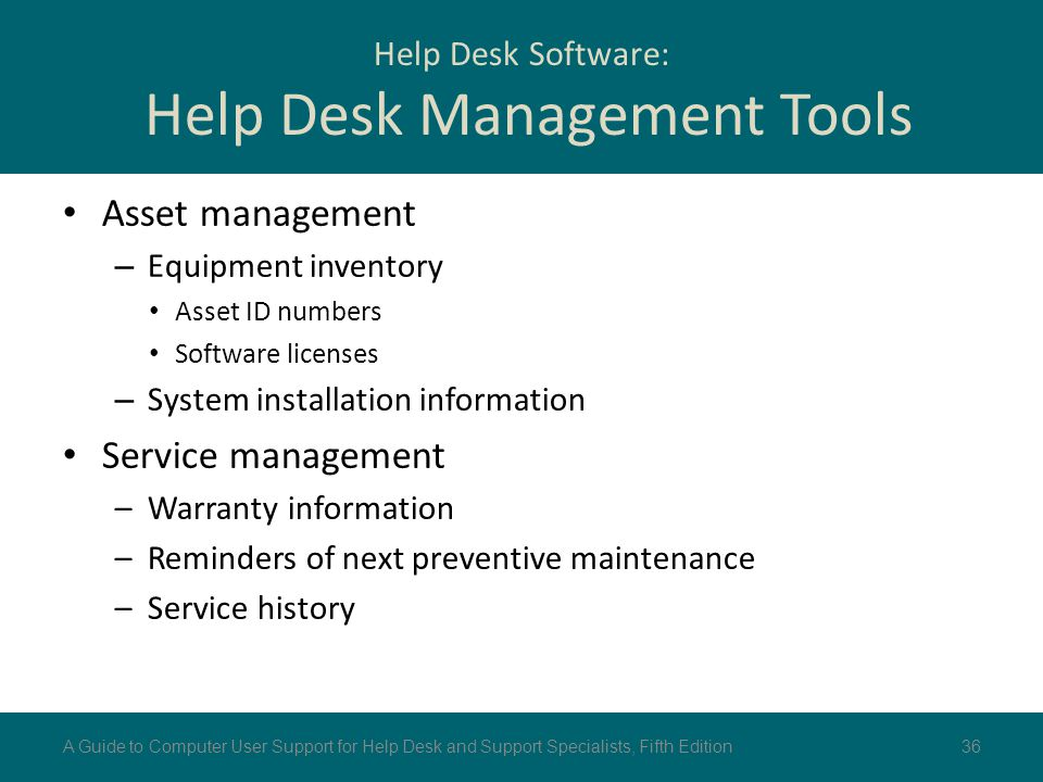 Help Desk Software: Help Desk Management Tools