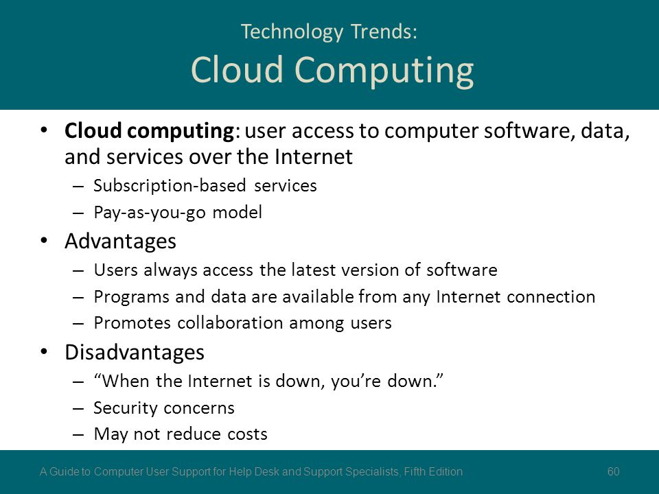Technology Trends: Cloud Computing