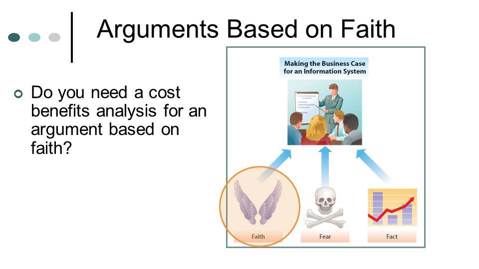 Arguments Based on Faith