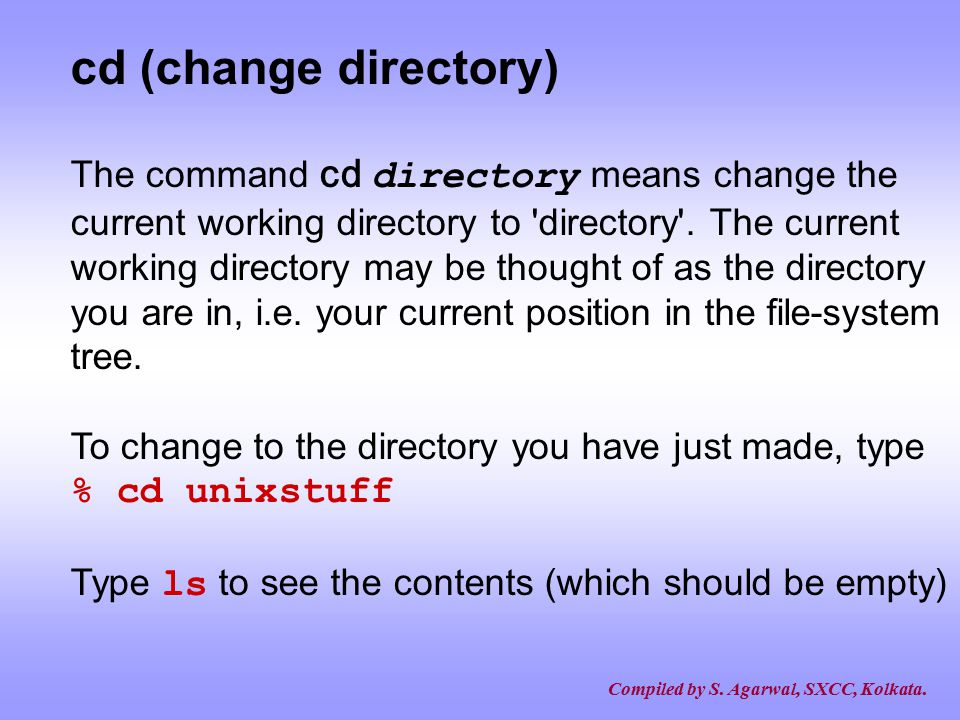 how to search a directory in unix
