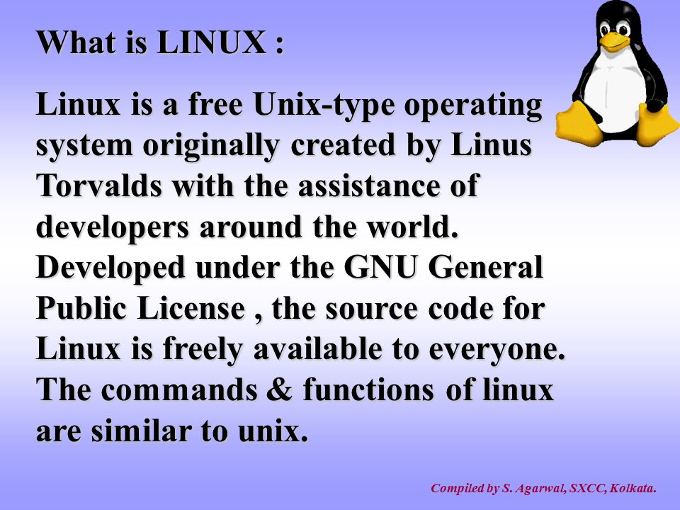 What is LINUX :