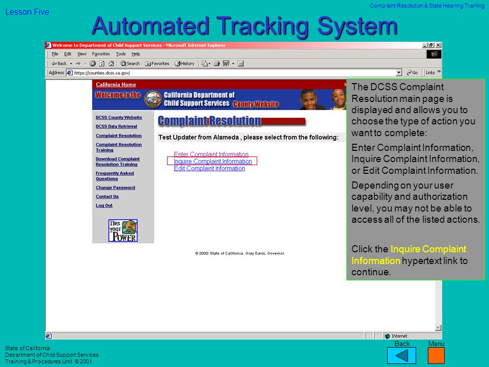 Automated Tracking System