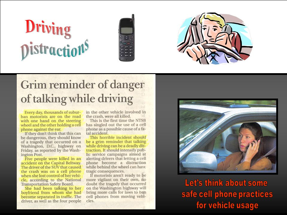 safe cell phone practices