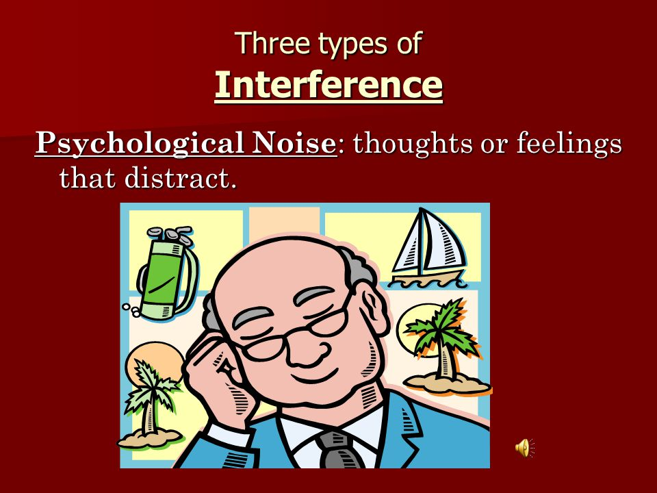 Three types of Interference