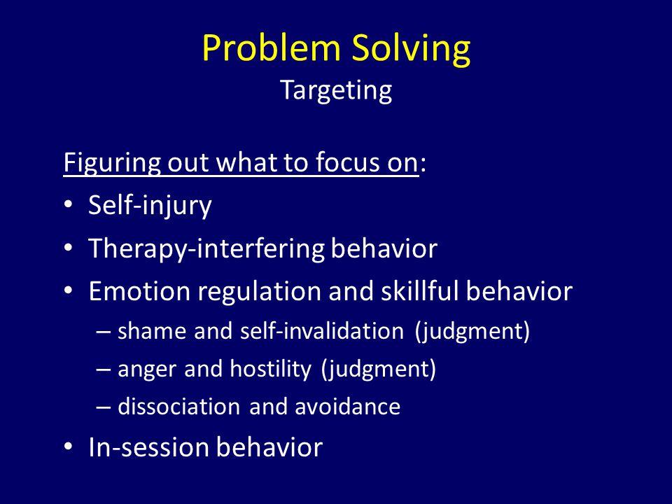Problem Solving Targeting