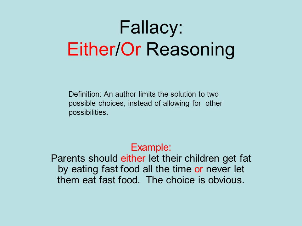 fallacy and reasoning essay 3b analysis of argument: finding errors the usual suspects: common logical fallacies we have identified seven logical errors that appear commonly in the essay.