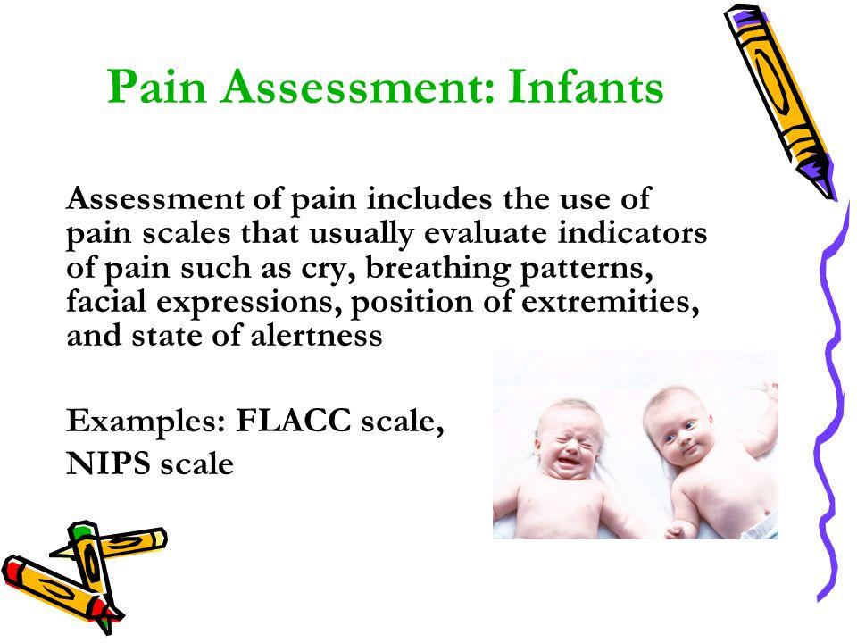 Pain Assessment: Infants