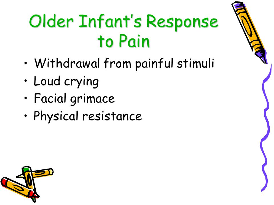 Older Infant's Response to Pain