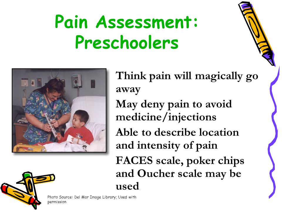Pain Assessment: Preschoolers