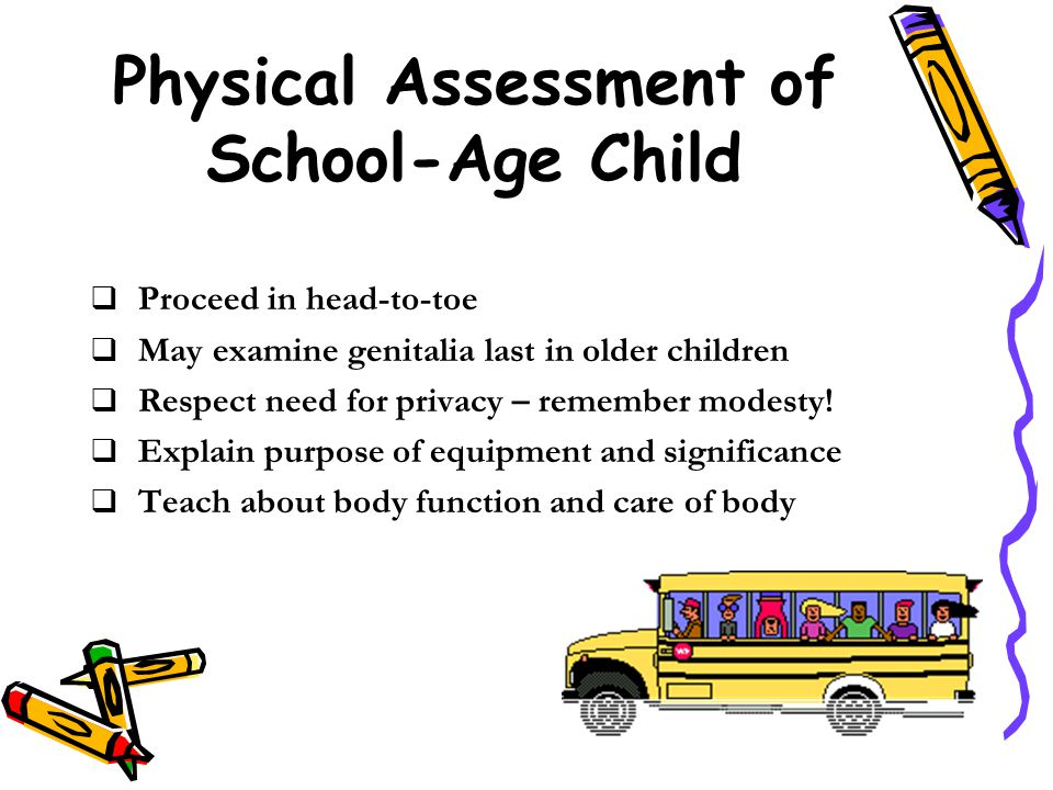 Physical Assessment of School-Age Child