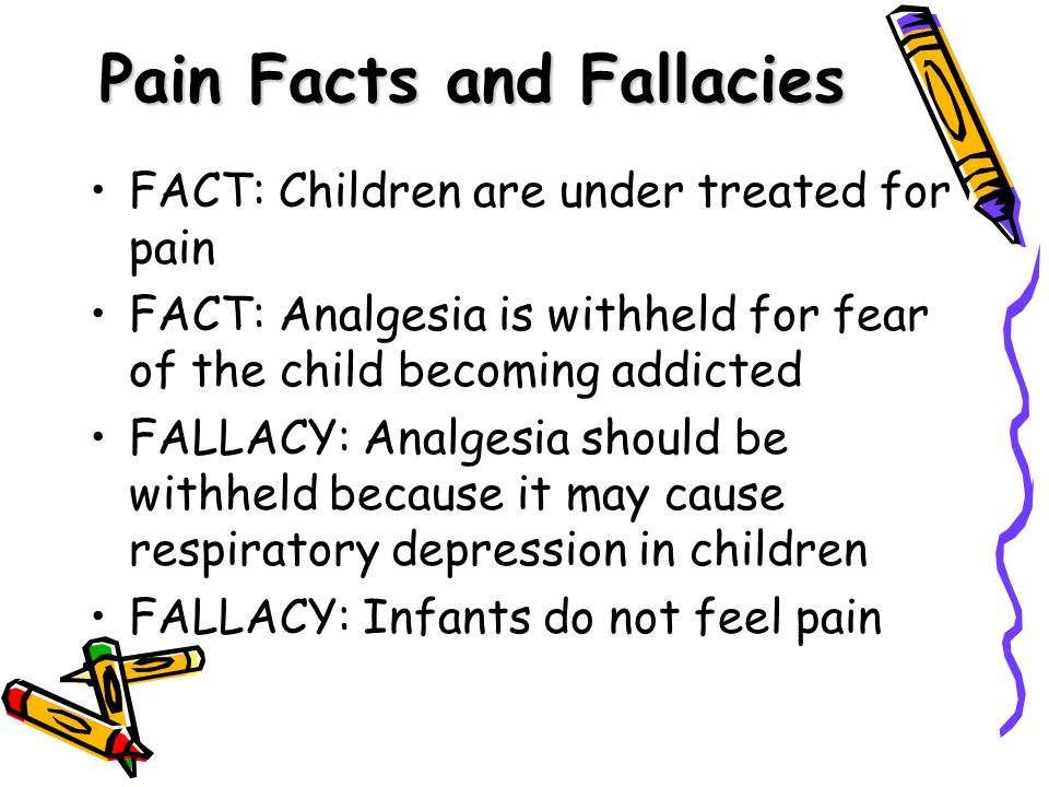 Pain Facts and Fallacies