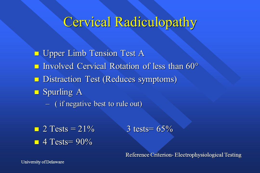 Cervical Radiculopathy