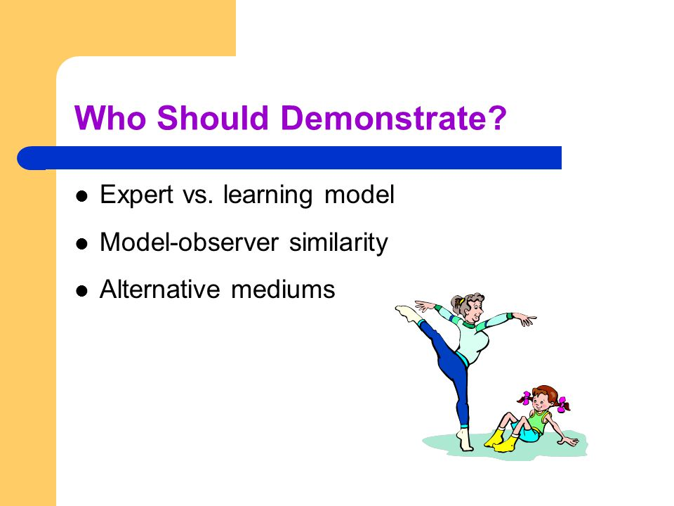Who Should Demonstrate