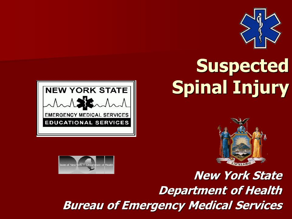 Suspected Spinal Injury