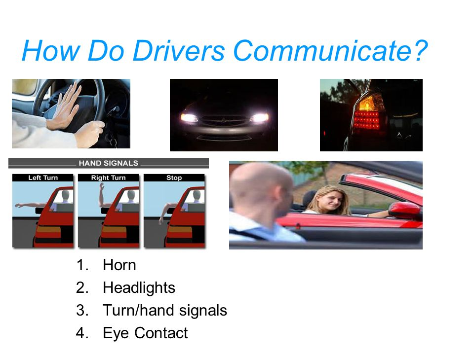 How Do Drivers Communicate