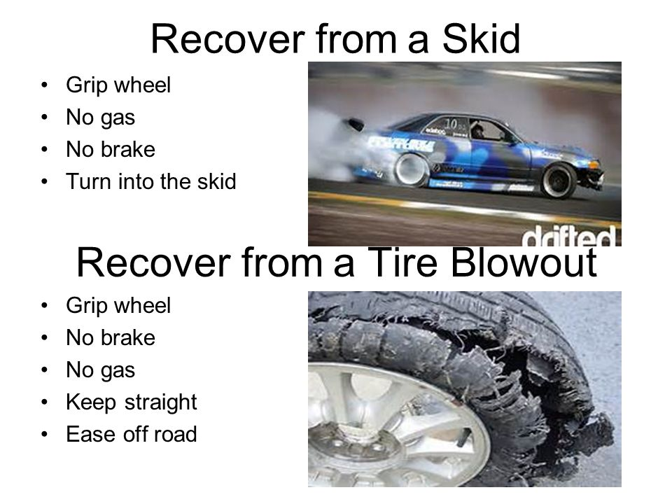Recover from a Tire Blowout