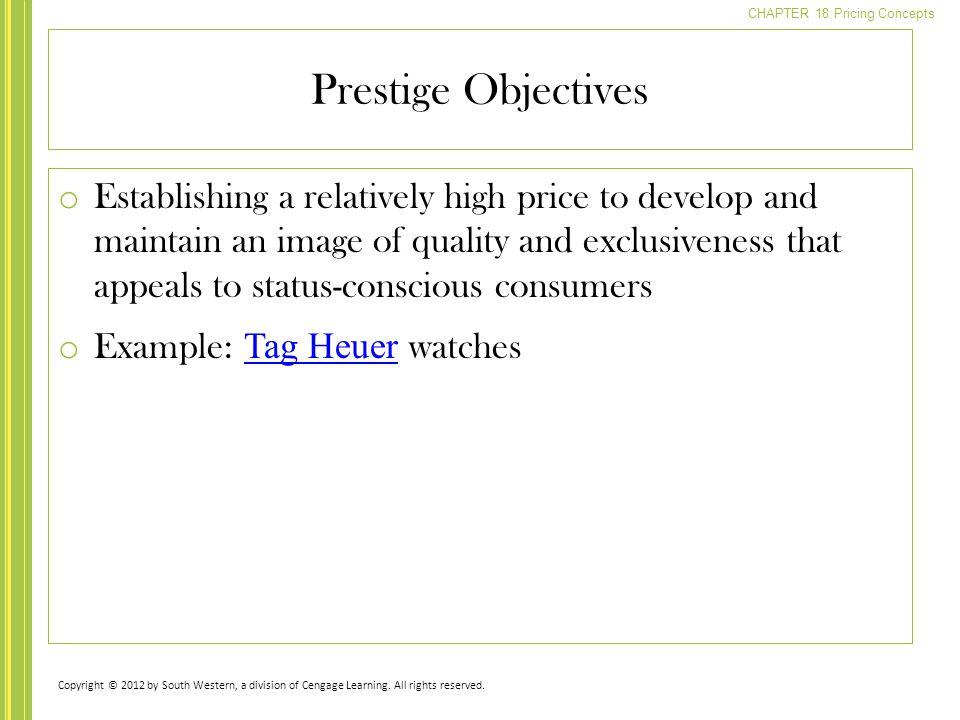 Prestige Objectives