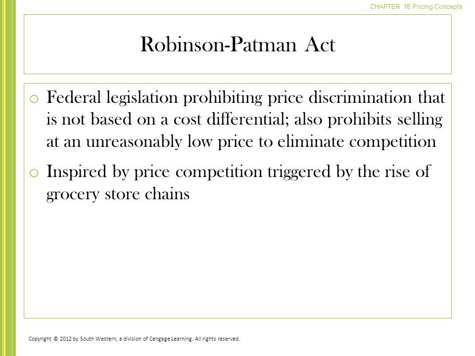 Robinson-Patman Act