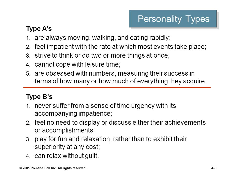 Personality Types Proactive Personality