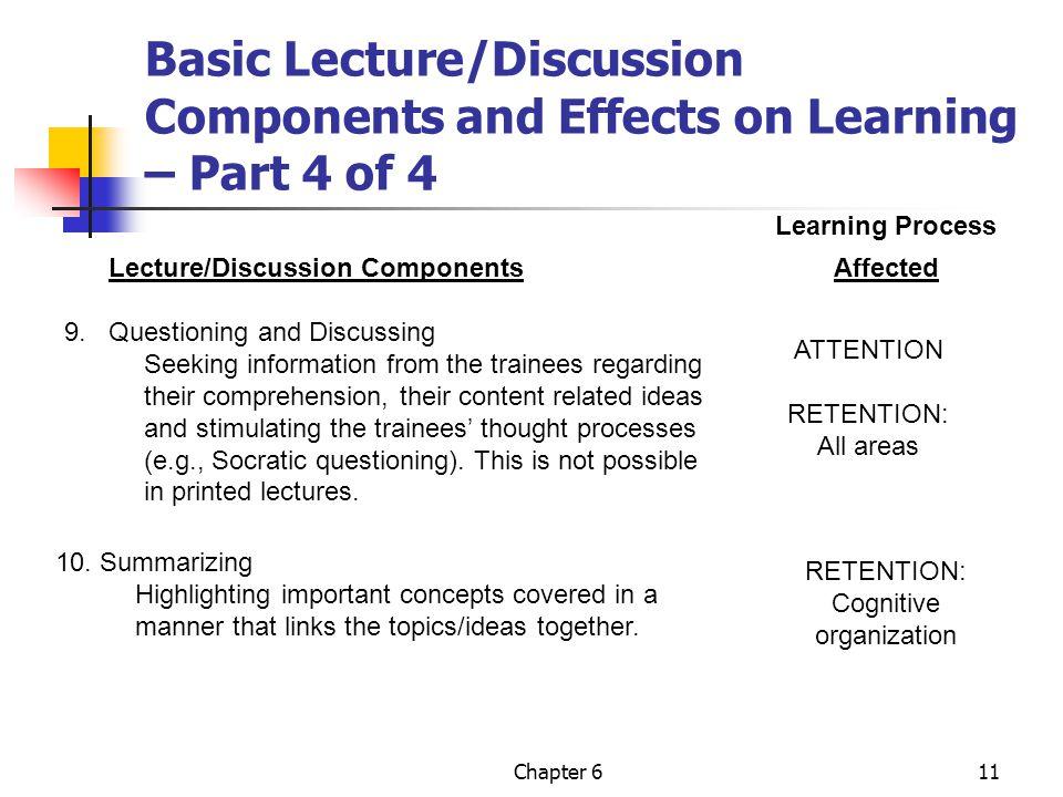 Cognitive organization
