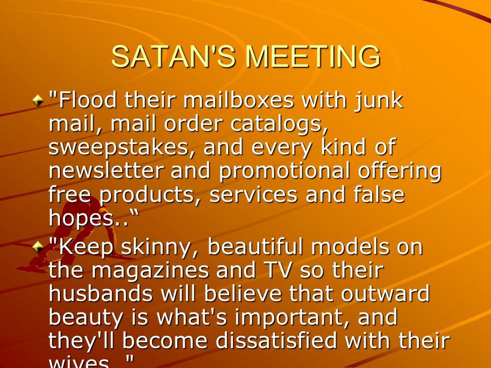 SATAN S MEETING