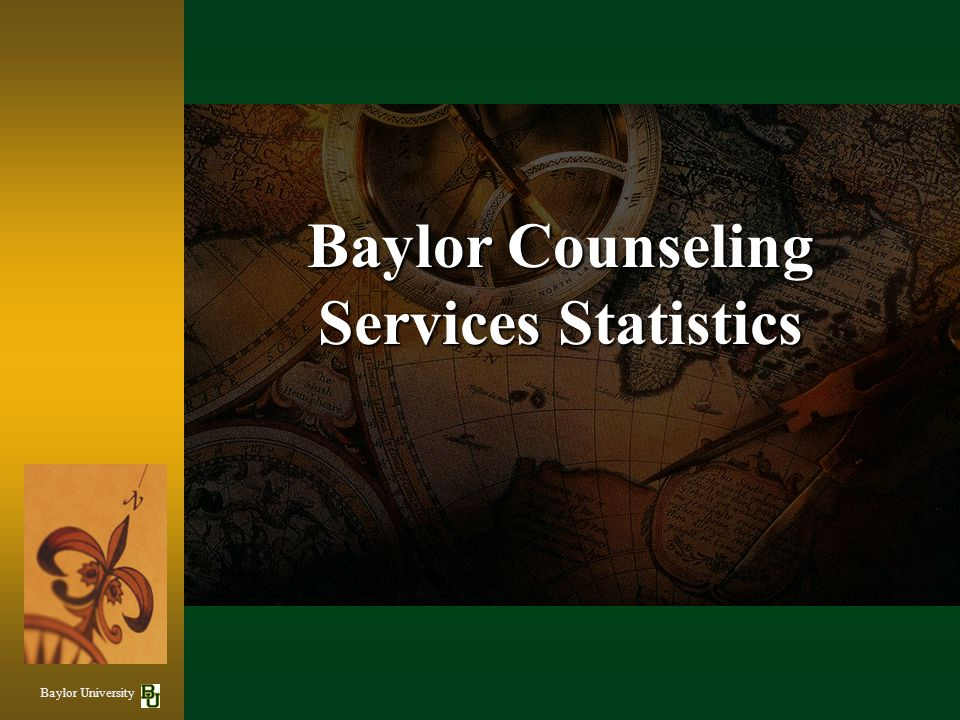 Baylor Counseling Services Statistics