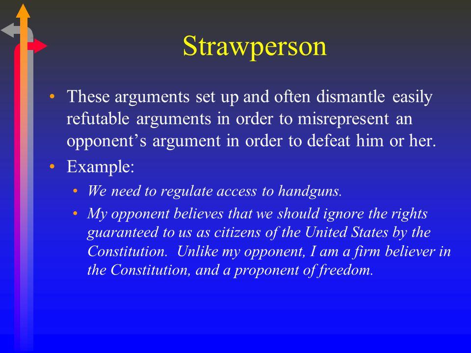 Strawperson