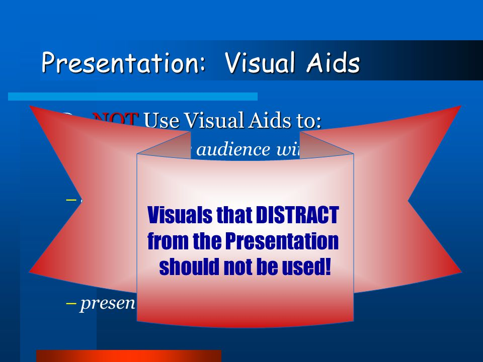 Presentation: Visual Aids