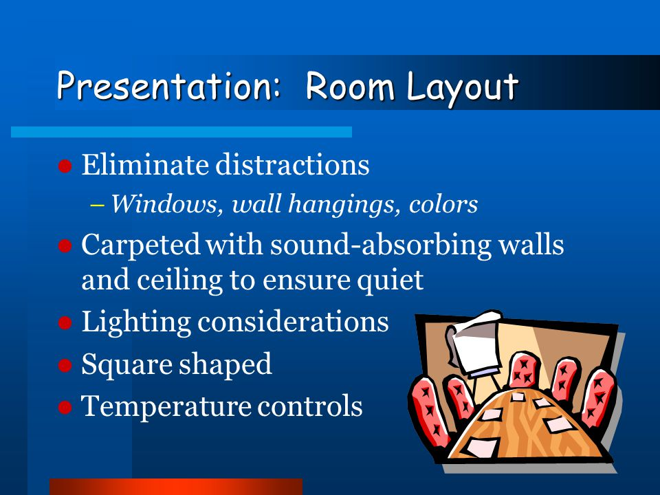 Presentation: Room Layout