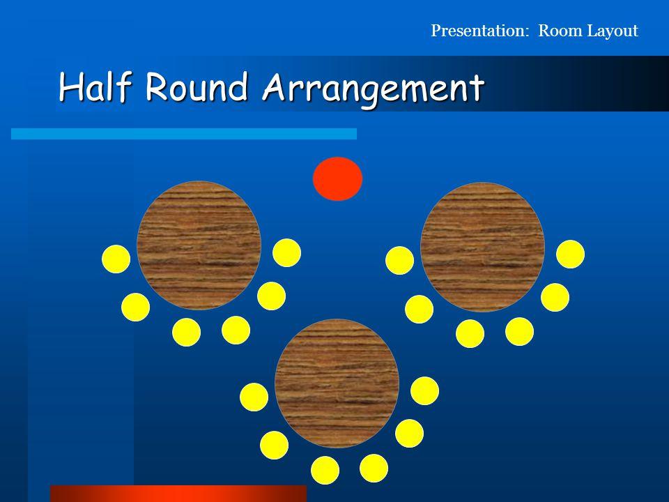 Half Round Arrangement