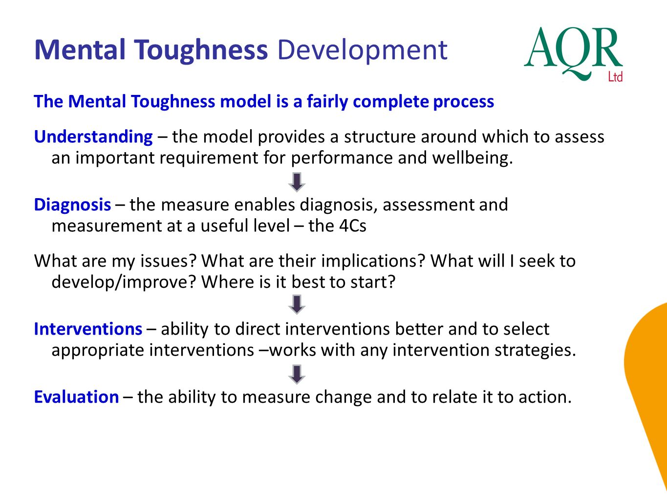 Mental Toughness Development