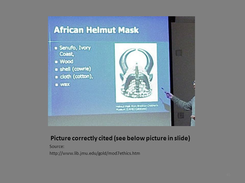 Picture correctly cited (see below picture in slide)