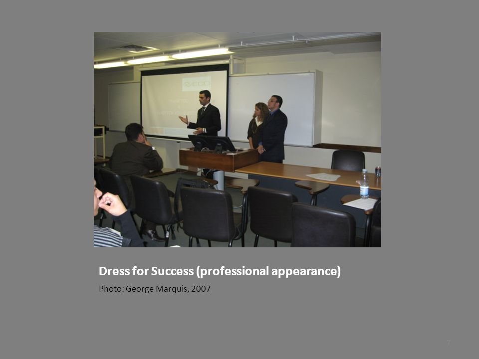 Dress for Success (professional appearance)