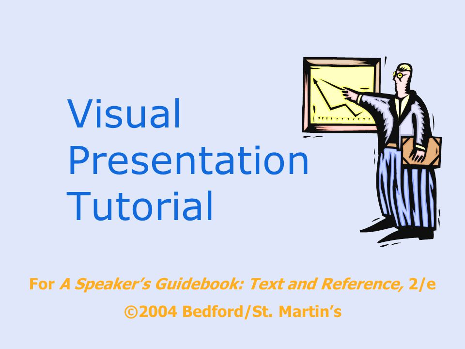 Visual Presentation Tutorial