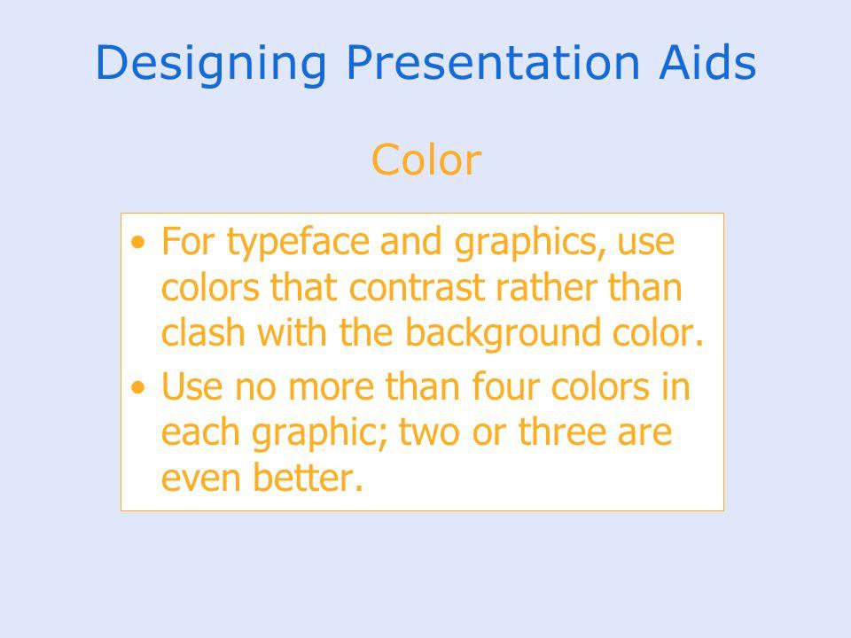 Designing Presentation Aids