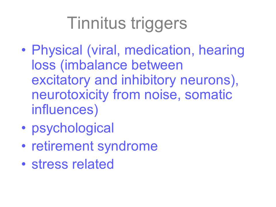 Tinnitus triggers