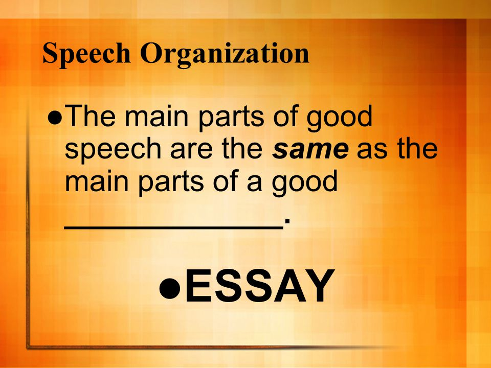 informative speaking mr raber sample speech ppt video online  12 essay speech organization
