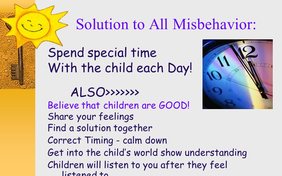 Solution to All Misbehavior:
