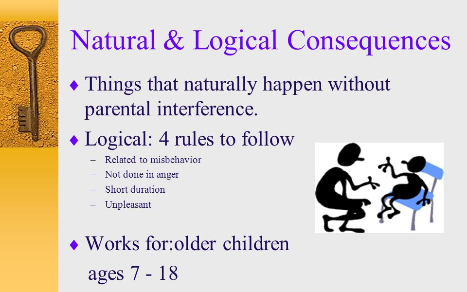Natural & Logical Consequences