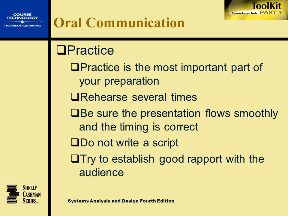 Oral Communication Practice