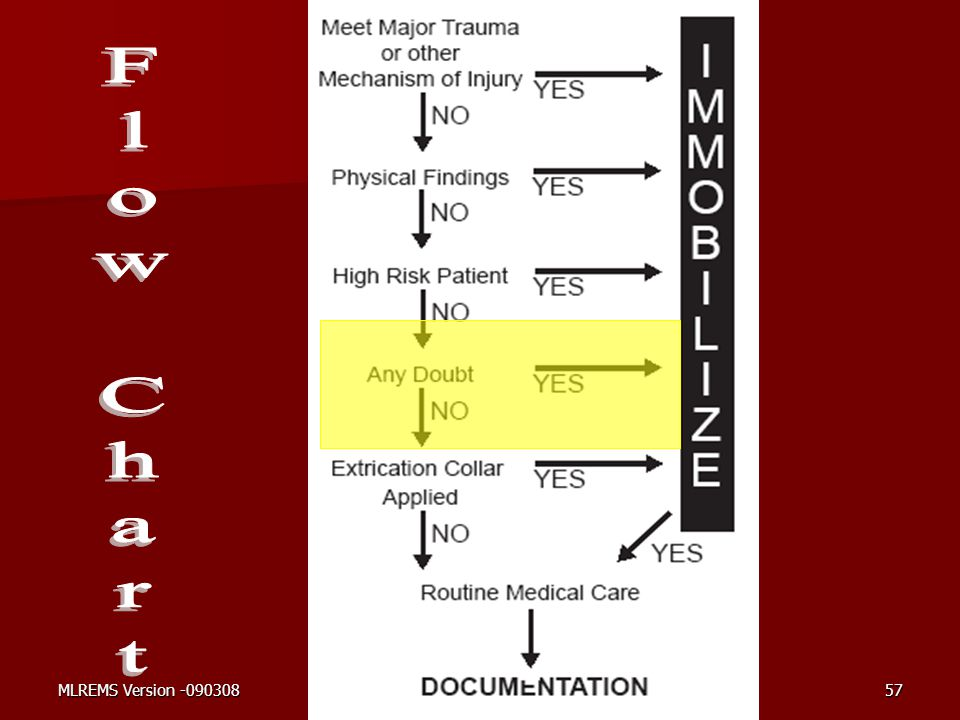 Flow Chart This flow chart follows a scene and patient assessment