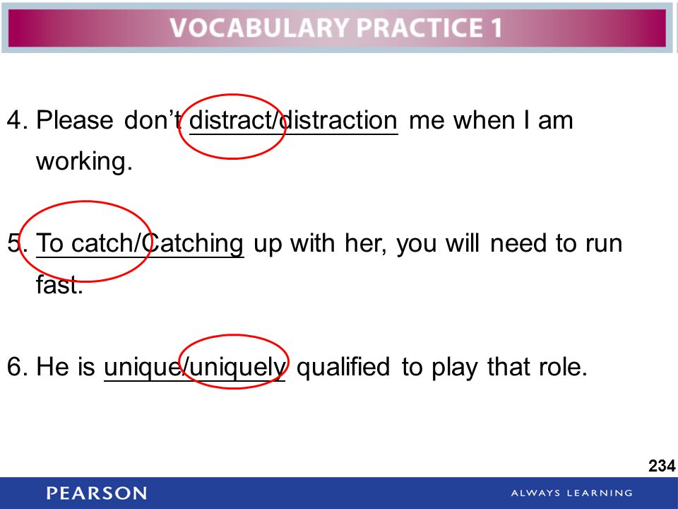 4. Please don't distract/distraction me when I am working.