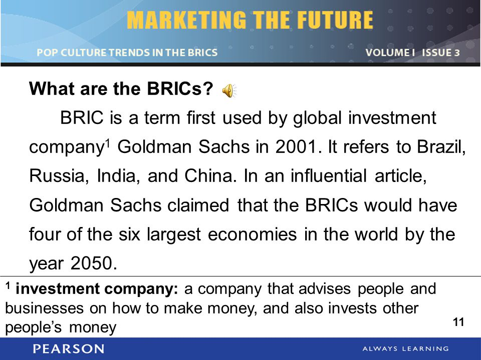 What are the BRICs